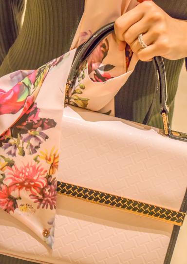 #tedbaker #handbag #scarf #engagementring
